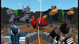 (ROBLOX) Tower Battles - KnownShhs VS Cribsel