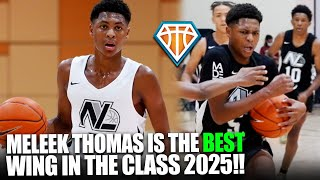 Meleek Thomas  S The BEST W NG  N THE CLASS OF 2025 Pitt Prospect DOM NATED 8th Grade Finale