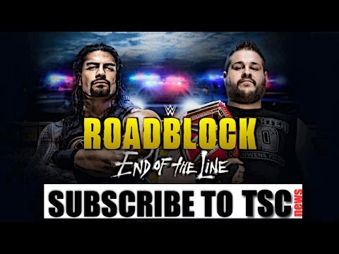 WWE Roadblock: End of The Line Recap