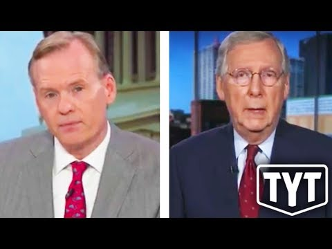 Mitch McConnell Mad For Being Fact-Checked Live