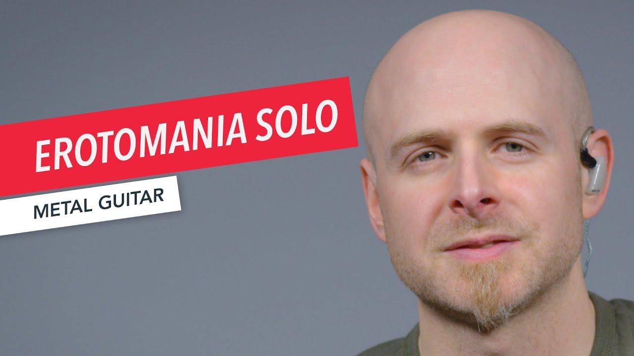 "Dream Theater | How to Play ""Erotomania"" Guitar Solo | John Petrucci | Metal Guitar | Shaun Michaud"