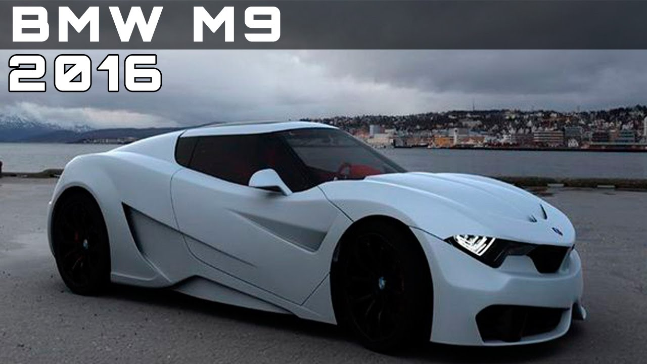 2016 bmw m9 review rendered price specs release date youtube. Black Bedroom Furniture Sets. Home Design Ideas