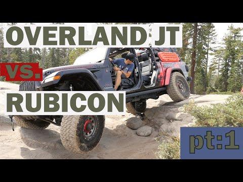 OVERLAND GLADIATOR  LITE BRITE TAKE ON THE RUBICON TRAIL pt:1