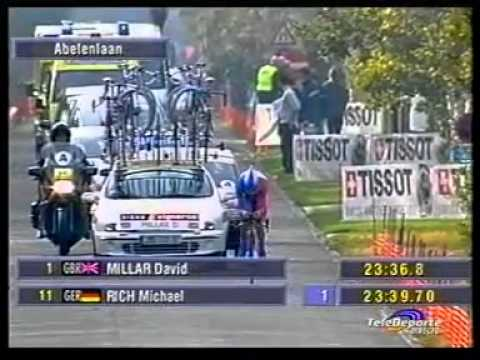 UCI ROAD WORLD CHAMPIONSHIPS 2002 - Elite Men's Time Trial - Santiago Botero (Colombia)
