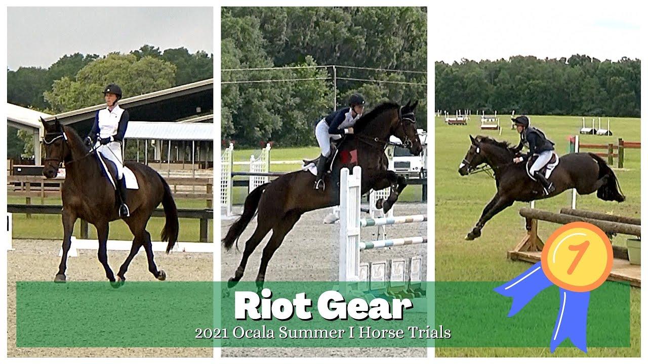 Riot Gear (1st Place • I/P • 2021 Ocala Summer I Horse Trials)