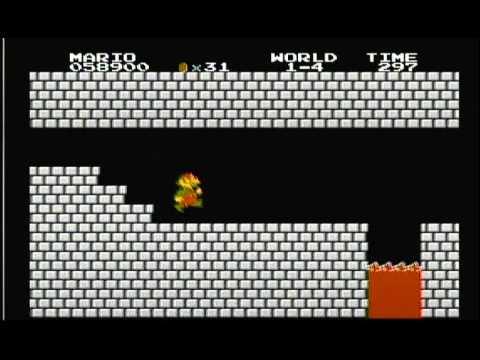 Super Mario Bros. - NES - missing 1UP mushrooms explained