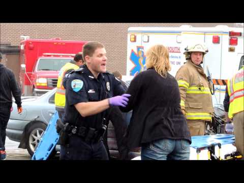OWI Mock Crash in Elkhart Lake on May 1, 2014