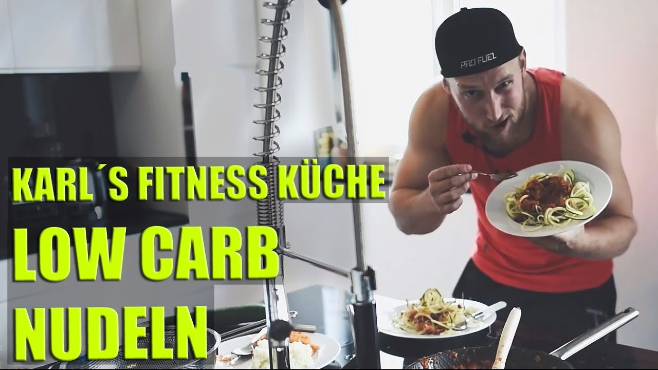 low carb nudeln vegan karl s fitness k che karl youtube. Black Bedroom Furniture Sets. Home Design Ideas