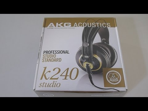 AKG K240 Studio Headphones Unboxing