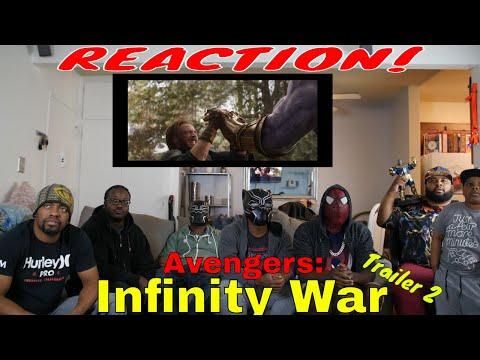 Avengers: Infinity War Trailer 2 Reaction