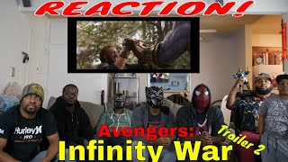Avengers: Infinity War Trailer 2 Reaction