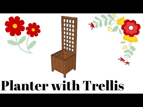 planter-with-trellis-plans