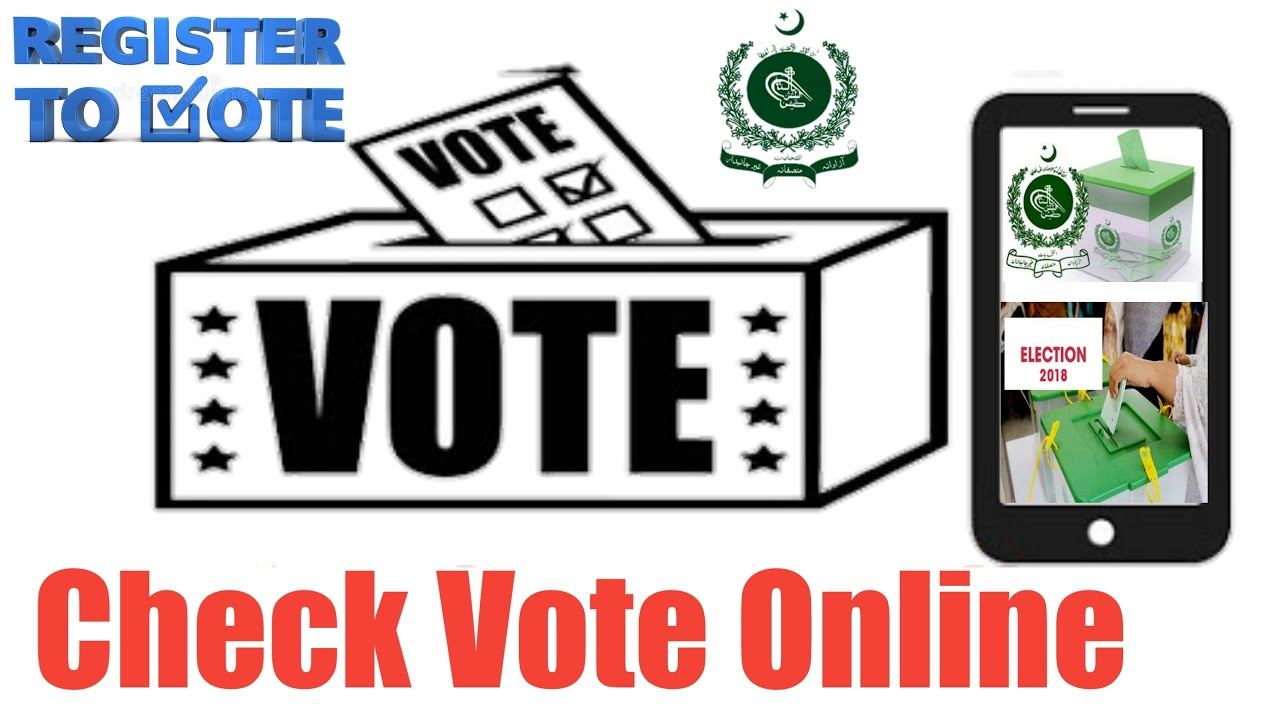 how to check voter list in pakistan