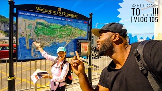 "Welcome to GIBRALTAR!!!! Vlog 105    ""You can see Africa from here!"""