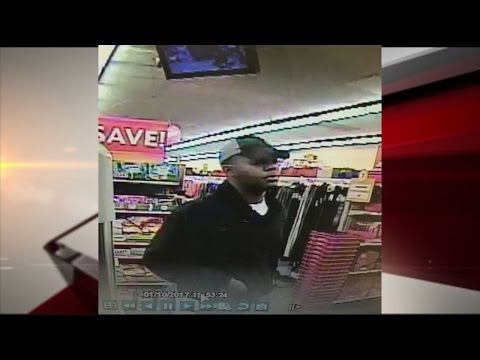Search for robbery suspect