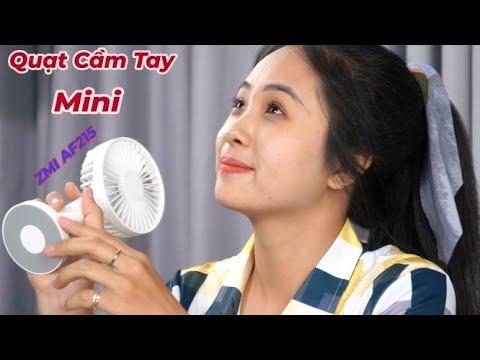 Quạt Cầm Tay Mini ZMI AF215 3350 mAh – Pin Dùng 12 Tiếng – Quạt Siêu Mát –  Động Cơ Không Chổi Than