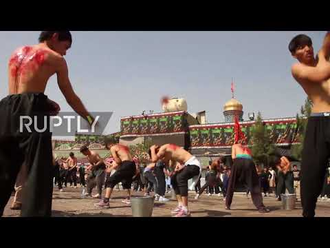 Afghanistan: Hundreds Partake In Bloody Ashura Procession