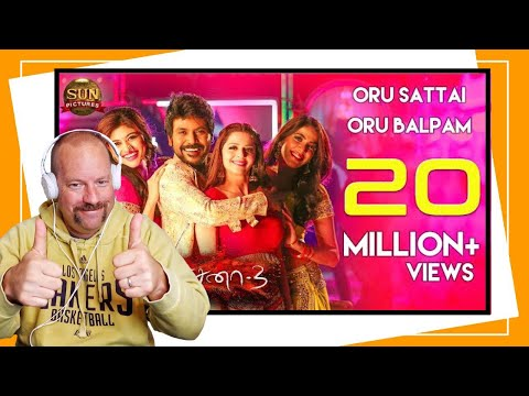 Oru Sattai Oru Balpam | Video Song | Kanchana 3 | Raghava Lawrence | Reaction