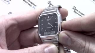 Годинник Casio Illuminator AQ-230A-1D [AQ-230A-1DVEF] - відео огляд від PresidentWatches.Ru