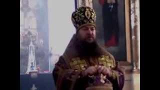 Архиепископ Митрофан провел службу в церкви Введения Богородицы во храм в с  Хованщино(Автор видео Виталий Ермаков., 2014-03-17T09:12:46.000Z)