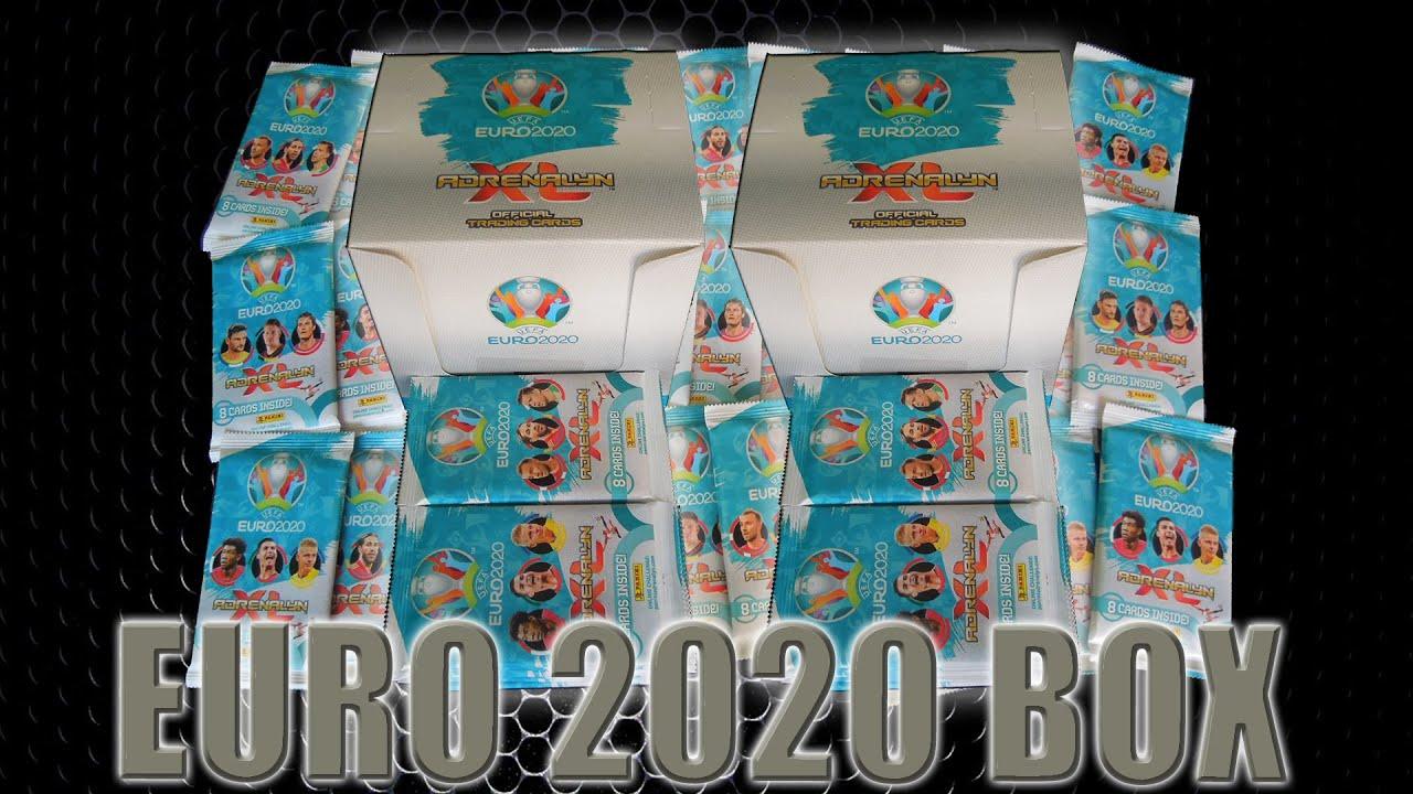 PANINI ROAD TO EURO 2020 ADRENALYN XL Mega Set 2 Starter blister Multi display