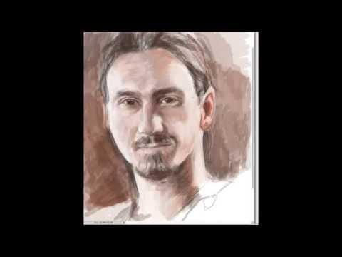 Drawing of Zlatan Ibrahimovic football player