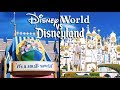 Top Disney World Rides vs Disneyland Rides Pt 3 -  Fantasyland
