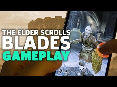 The Elder Scrolls: Blades Gameplay | QuakeCon 2018