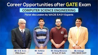 Career Opportunities after GATE | Computer Science Engineering | MADE EASY