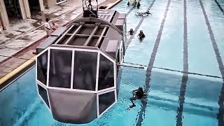 Underwater Helicopter Egress Training • Helo Dunker