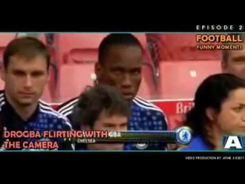 Drogba Flirting With The Camera