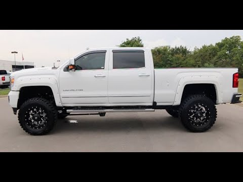 "2017 GMC Sierra Crew Cab 3500HD 4X4 6.6L Denali 6"" Lift By ..."
