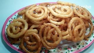 crispy jilapi/Bangladeshi jelapi recipe/ramadan special/jalebe