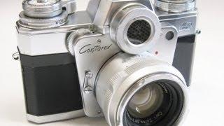 Zeiss Ikon Contarex Bullseye + Carl Zeiss Planar50mmF2