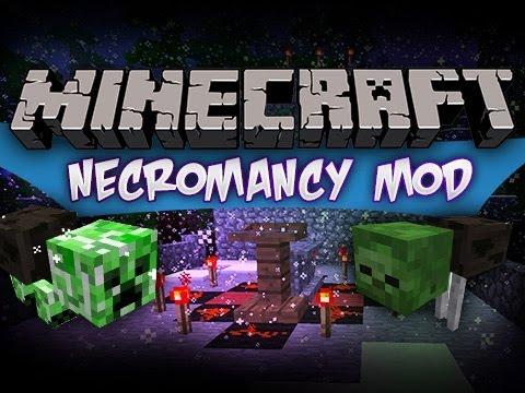 minecraft necromancy mod youtube. Black Bedroom Furniture Sets. Home Design Ideas