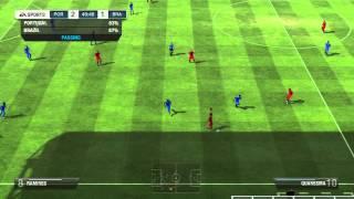 FIFA 13 Gameplay - Portugal Vs Brazil