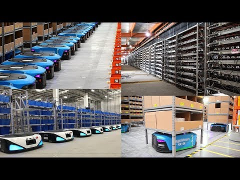 China Innovation! Clear Examples Of The Rise of Robotics in China's Logistics