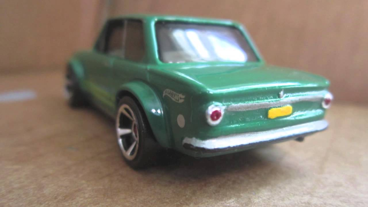 1970 BMW 2002 Hot Wheels Detailed
