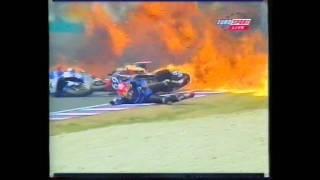 James Whitham - Big Highside & Exploding Tank, 500cc Grand Prix