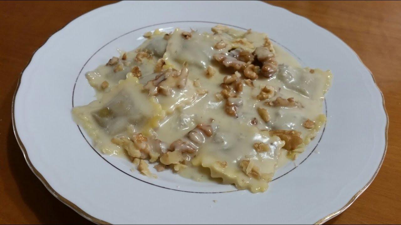 Ricetta Ravioli Gorgonzola E Noci.Ravioli Gorgonzola E Noci Youtube