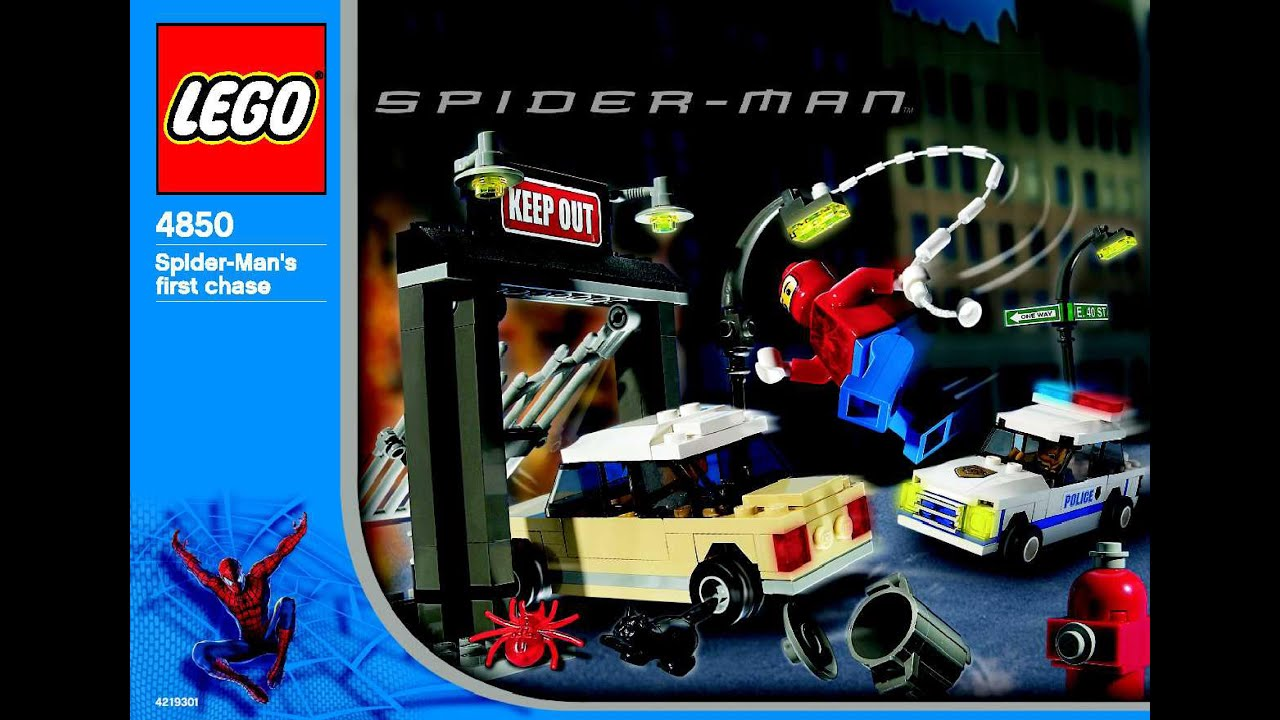 lego spider man homecoming instructions