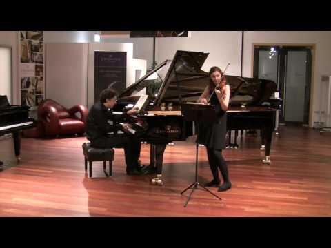"""Maurice Ravel: Violin Sonata No. 2, """"Perpetuum mobile"""" - Franziska Hölscher, Benjamin Moser"""