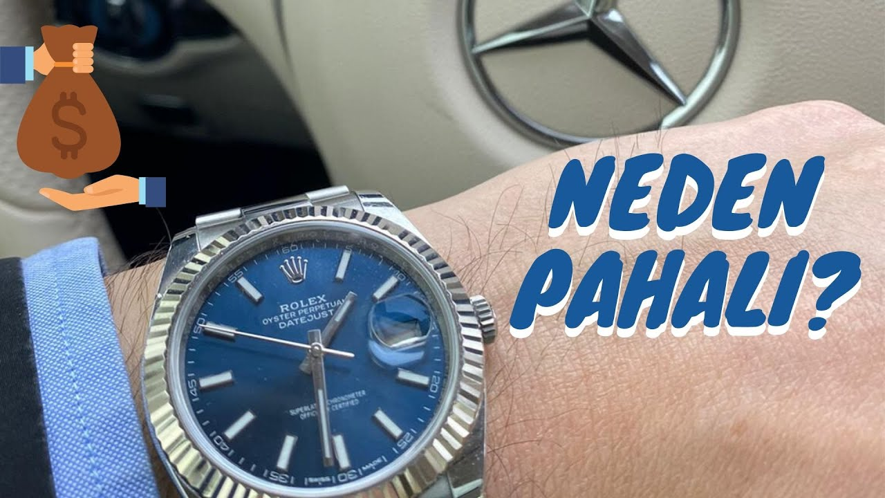 Rolex Saatler Neden Pahalı