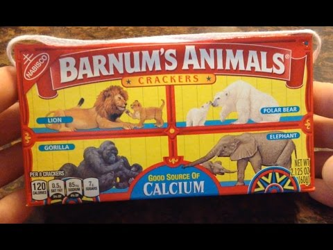 This American Unboxing - Animal Crackers