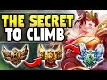 THE SECRET TO CARRYING SOLO QUEUE WITH GAREN! (THIS IS THE EASIEST WAY) - League of Legends