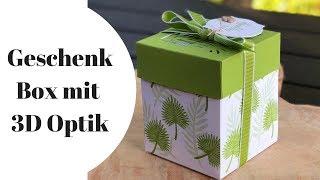 📍Anleitung: 3D Geschenkbox basteln mit Stampin' Up!