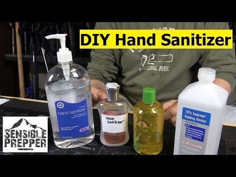 Easy To Make DIY Hand Sanitizer