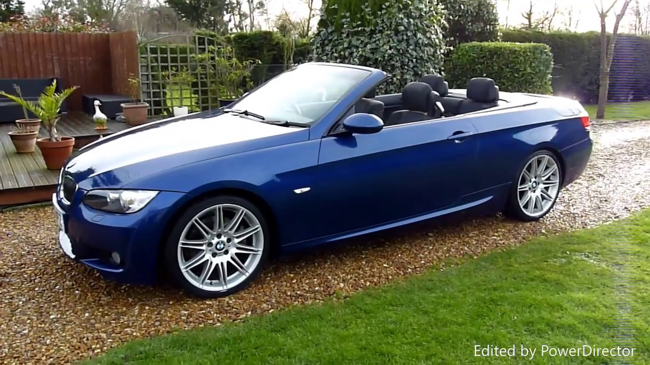 Video Review Of 2008 Bmw 325i M Sport Convertible For Sdsc Specialist Cars Cambridge Uk