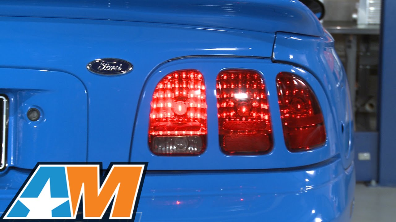 Mustang Raxiom Sequential Tail Light Kit Plug And Play