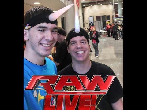 Day in the Life: WWE MONDAY NIGHT RAW PHILADELPHIA, PA 12/15/15